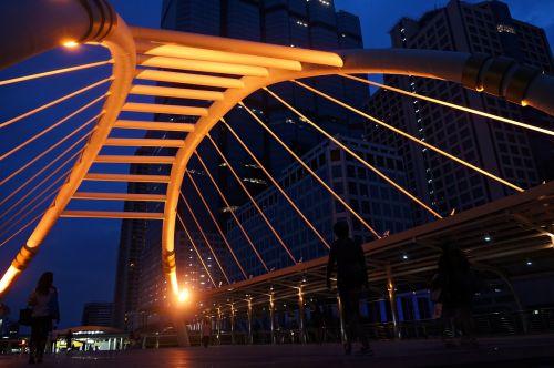 floating bridge separate narathiwat bts chong nonsi