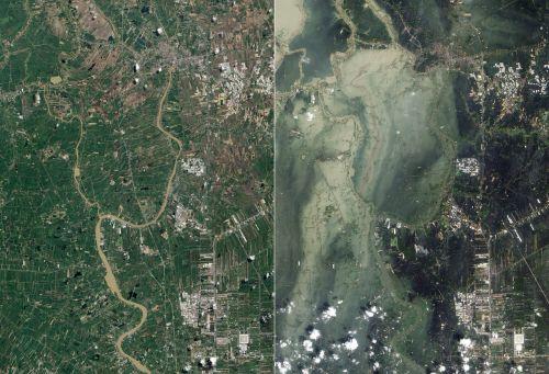 flood tsunami ayutthaya