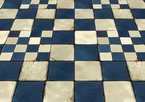 floor stones topping