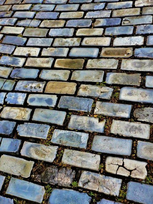 floor bricks grey bricks