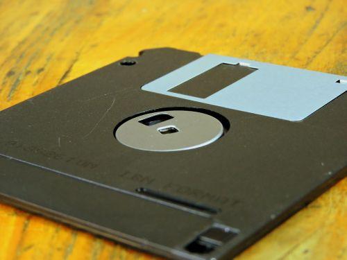 floppy vintage memory