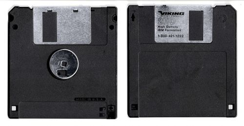 floppy disk storage