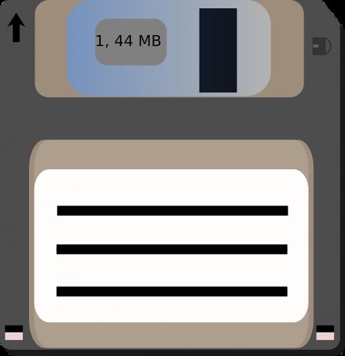 floppy disk magnetic