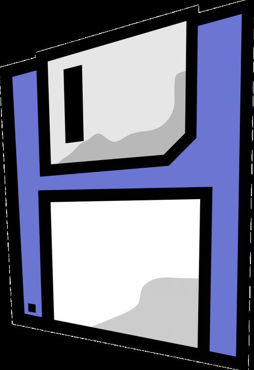 floppy disk diagram