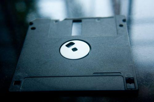 floppy disc data storage