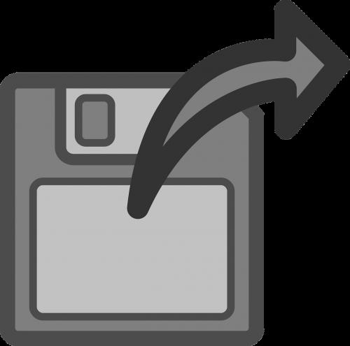 floppy disk import save