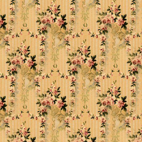 floral vintage seamless