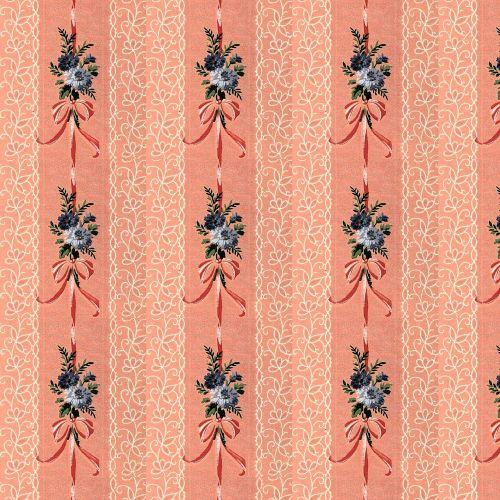floral vintage decorative
