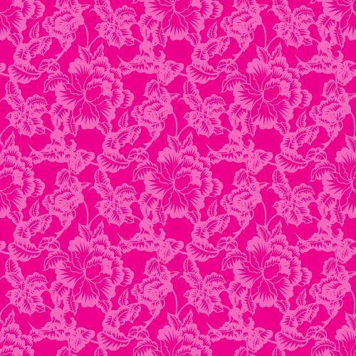 Floral Background Pattern Retro