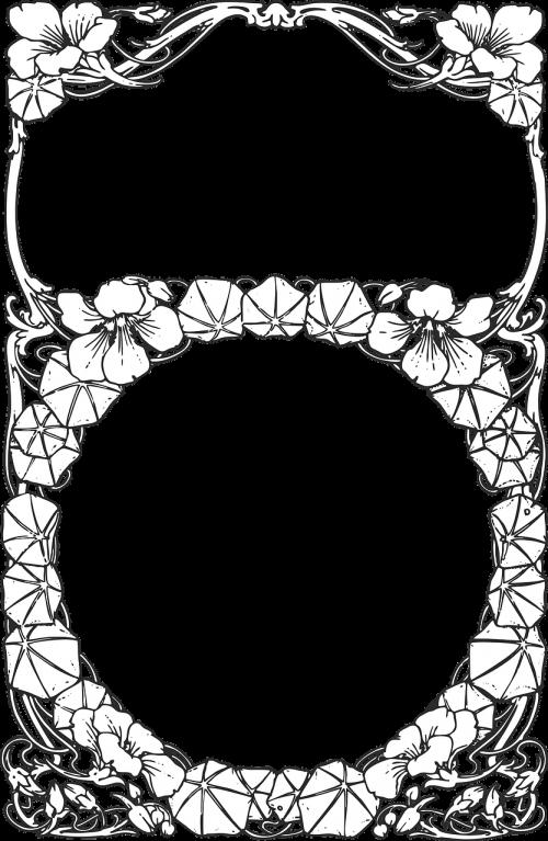 floral border border frame