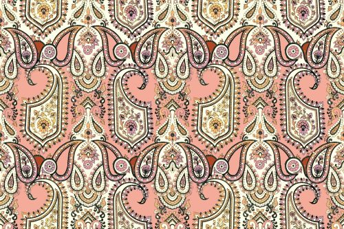 Floral Ethnic Pattern 1