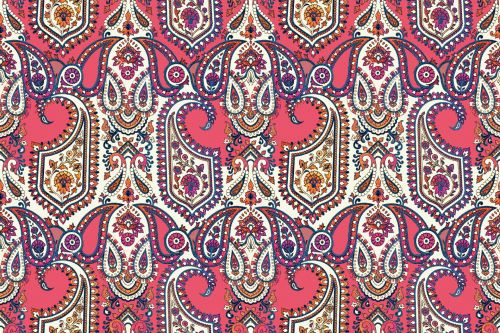 Floral Ethnic Pattern 2