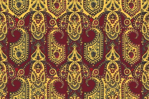 Floral Ethnic Pattern 3