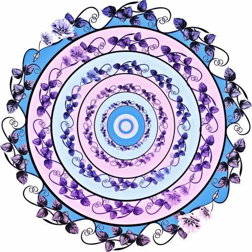 Floral Mandala 1
