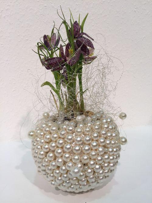 floral ostergruß arrangement bouquet