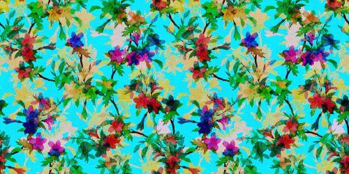 Floral Pattern Background 416
