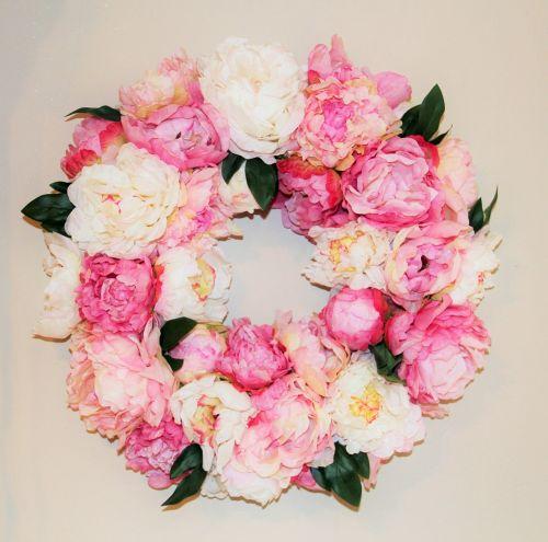 floral wreath decorative flowers