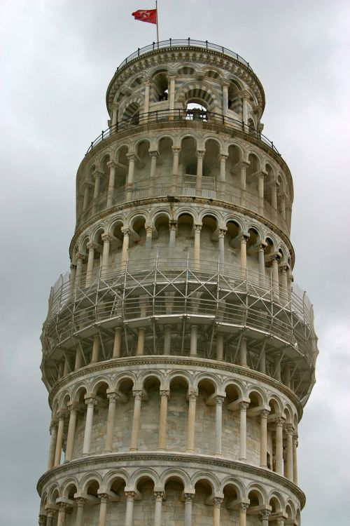 florence pisa leaning tower