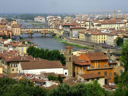 florence ponte vecchia tuscany