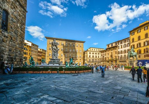 florence firenze piazza