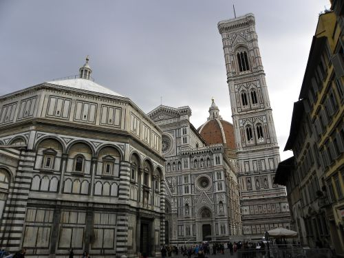 florence baptistery bell tower