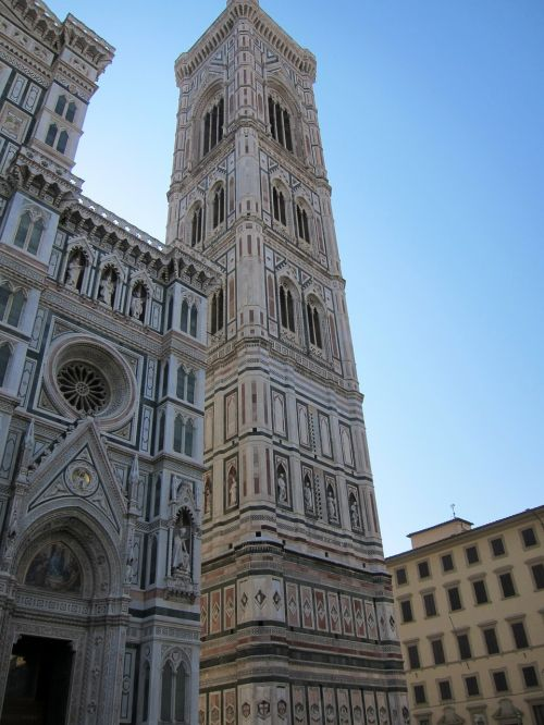florence bell tower baptistery