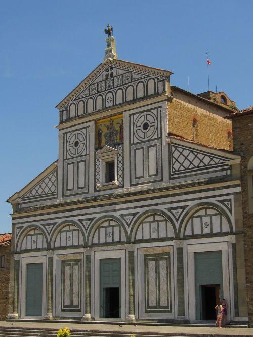 florence rhaeto romanic church san miniato al monte