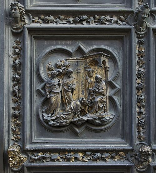 florence baptistery plaque