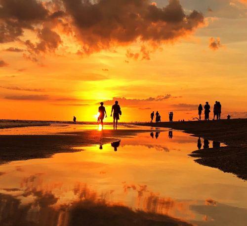 florida sea afterglow