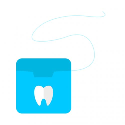 floss dentist dentistry