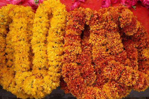 flower garland floral
