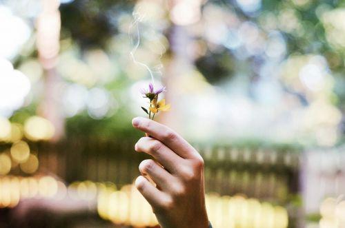 flower smoking smoking flower