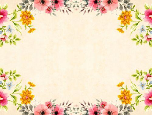 flower background vintage