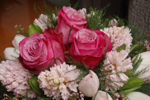 gėlė, puokštė de fleurs, gėlių, gėlių kompozicija, pavasaris, gamta, kompozicija, be honoraro mokesčio