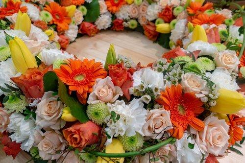 flower  floral wreath  celebration
