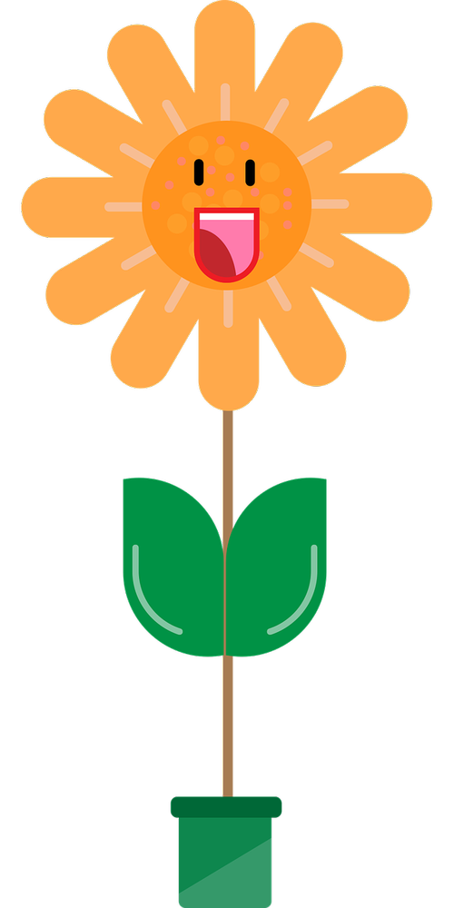 flower  character  flat character