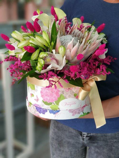 flower  wedding  box