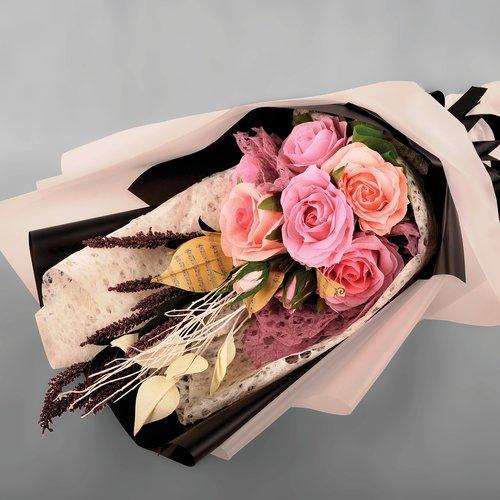 flower  crepe flower  bouquet