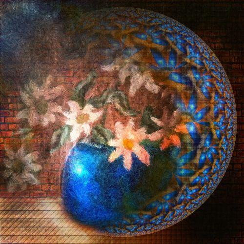 flower vase globe