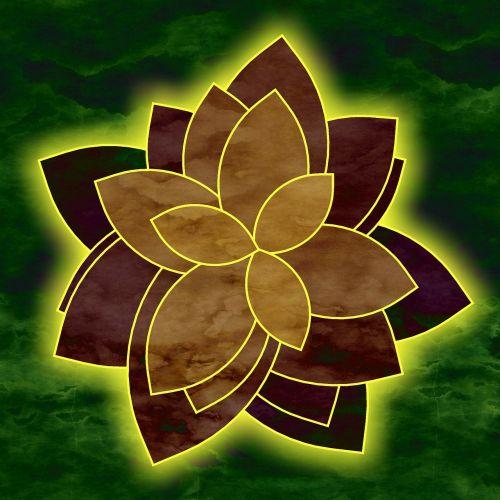 flower form pattern