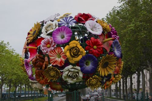 flower ball lyon deco
