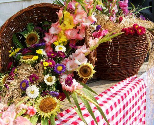 flower decoration flower bouquet color
