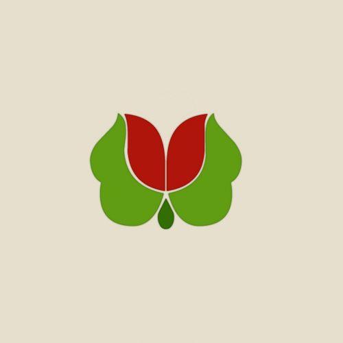 flower logo rose blossom
