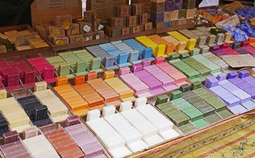 flower market nice soap