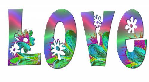 Flower Power - LOVE