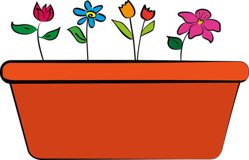 flowerpot  flower  flowers