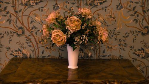 flowers bouquet vase