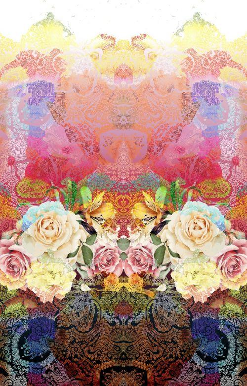 flower color wrap