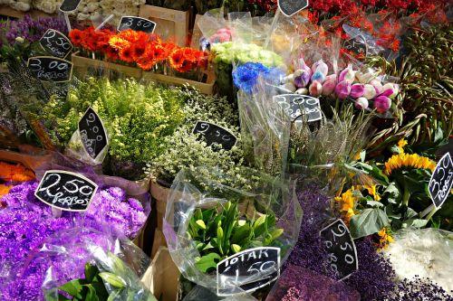 flowers florist flower stall