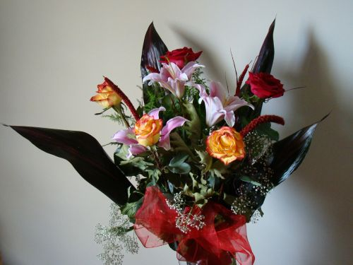 flowers ikebana posy